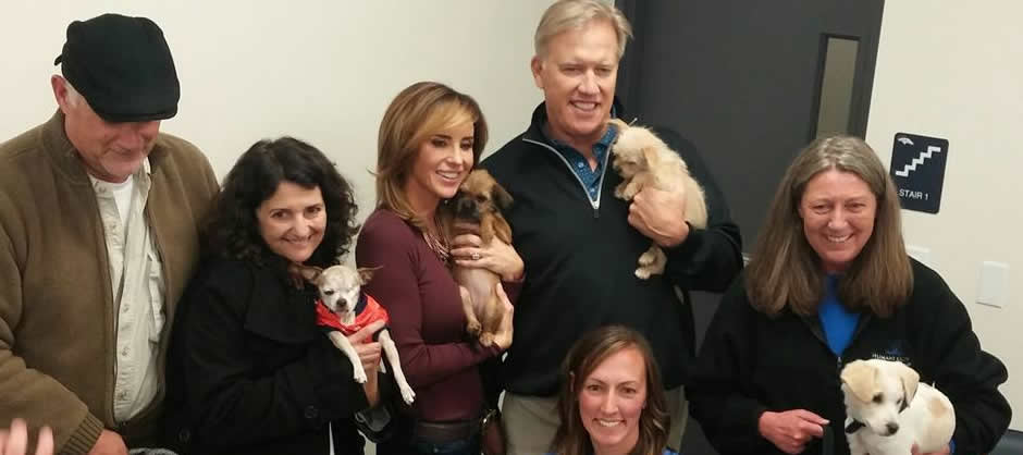 Paige and John Elway Call for End to Puppy Mills